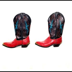 COPY - Multi-colored cowboy boots